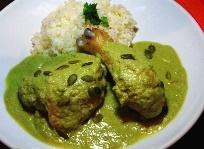 サルシータ 鶏肉のピピアンベルデ
